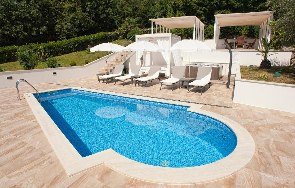 Apartment Garden with the swimming pool (Kroatien Ičići ...