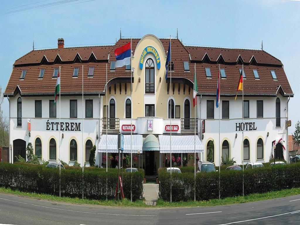 The building in which a szállodákat is located