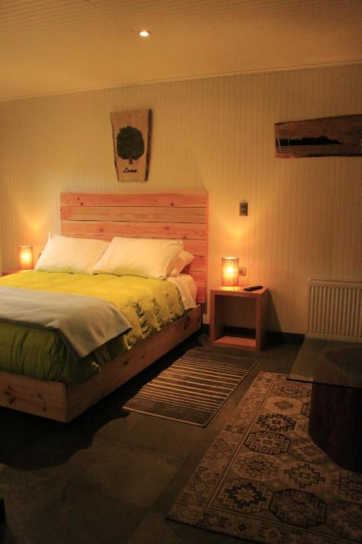 Lova arba lovos apgyvendinimo įstaigoje Treca Rupan Lodge