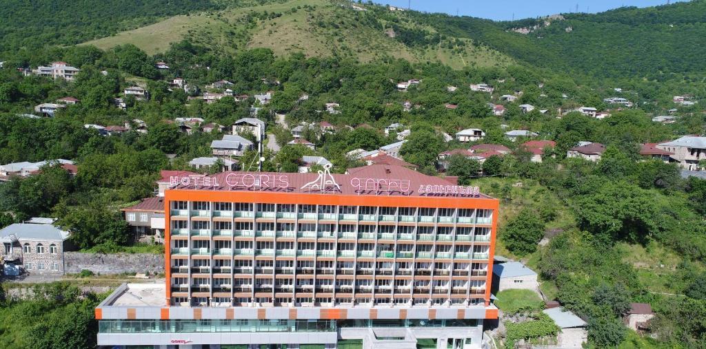 A bird's-eye view of Goris Hotel