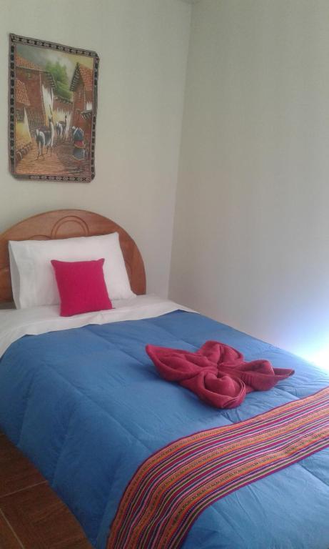 Cama o camas de una habitación en Departamento Casandina