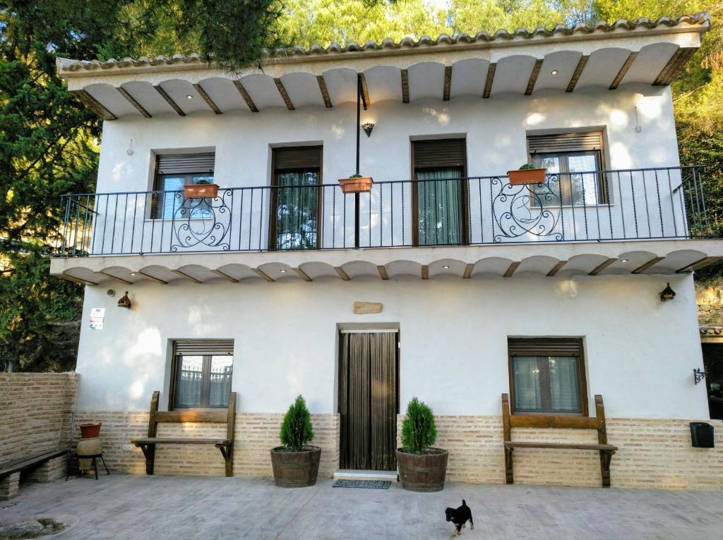 Casa de campo Casa Rivera Río Jucar (España Valdeganga ...