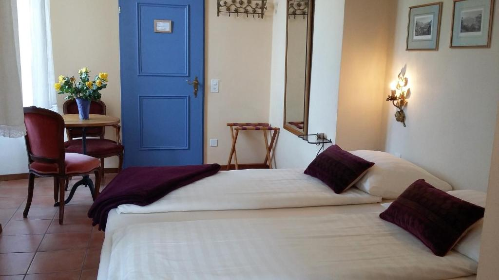 A bed or beds in a room at Casa Gialla