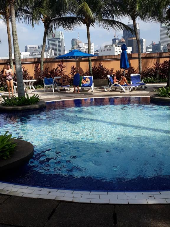 The swimming pool at or near 1 IMBI SUITES TIMES SQUARE