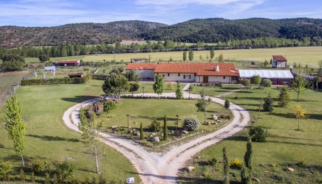 Hotel Rural Bioclimático Sabinares del Arlanza a vista de pájaro