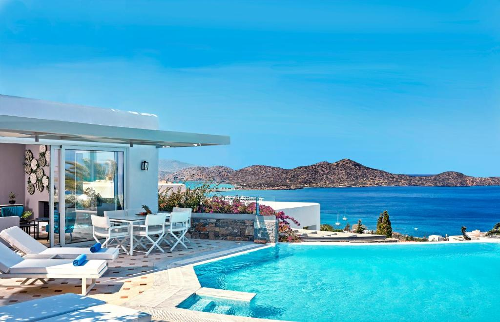 The swimming pool at or near Elounda Gulf Villas