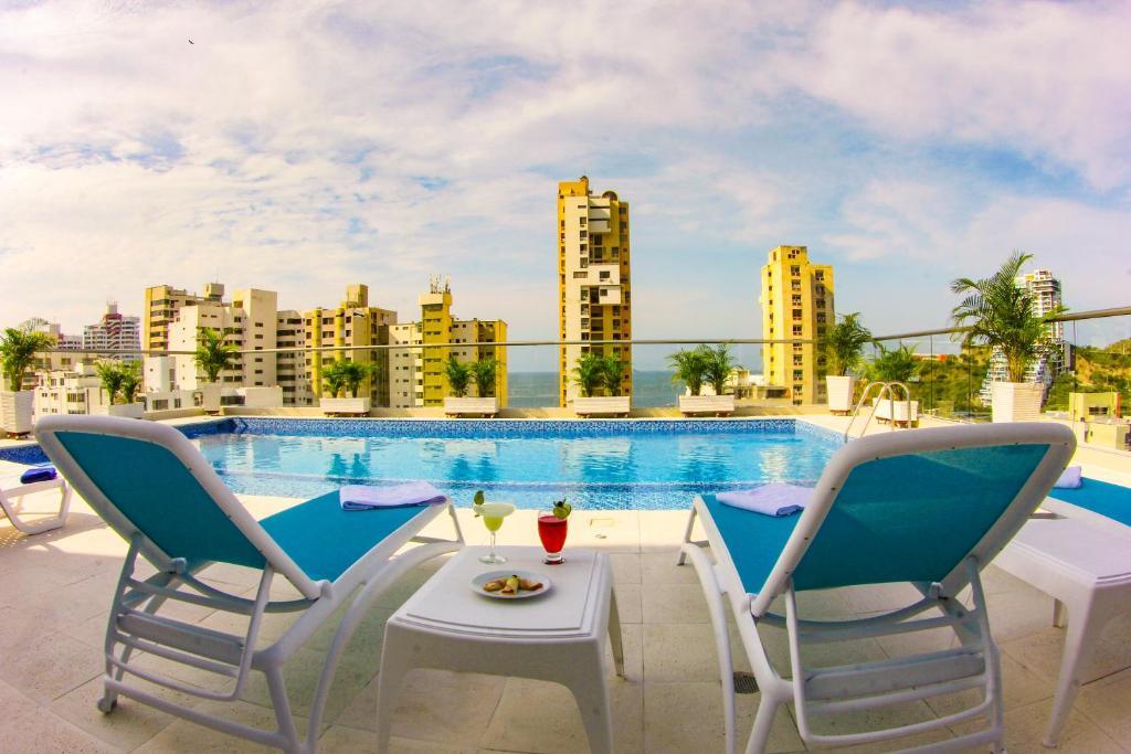 Piscina en o cerca de Hotel Tayrona del Mar