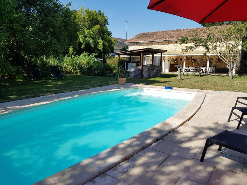 The swimming pool at or near La Pomme d'Or