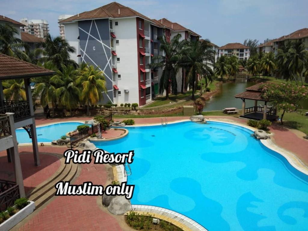 A view of the pool at PD Perdana - Pidi Resort A108 or nearby