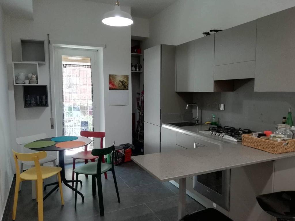 A kitchen or kitchenette at B&B Ninò