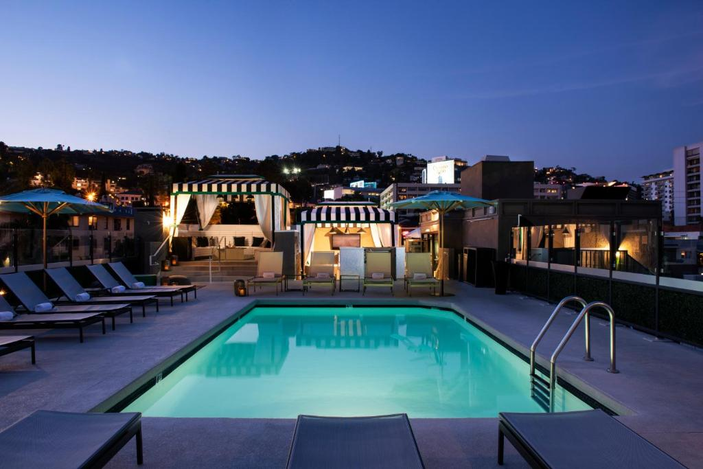 The swimming pool at or close to Chamberlain West Hollywood