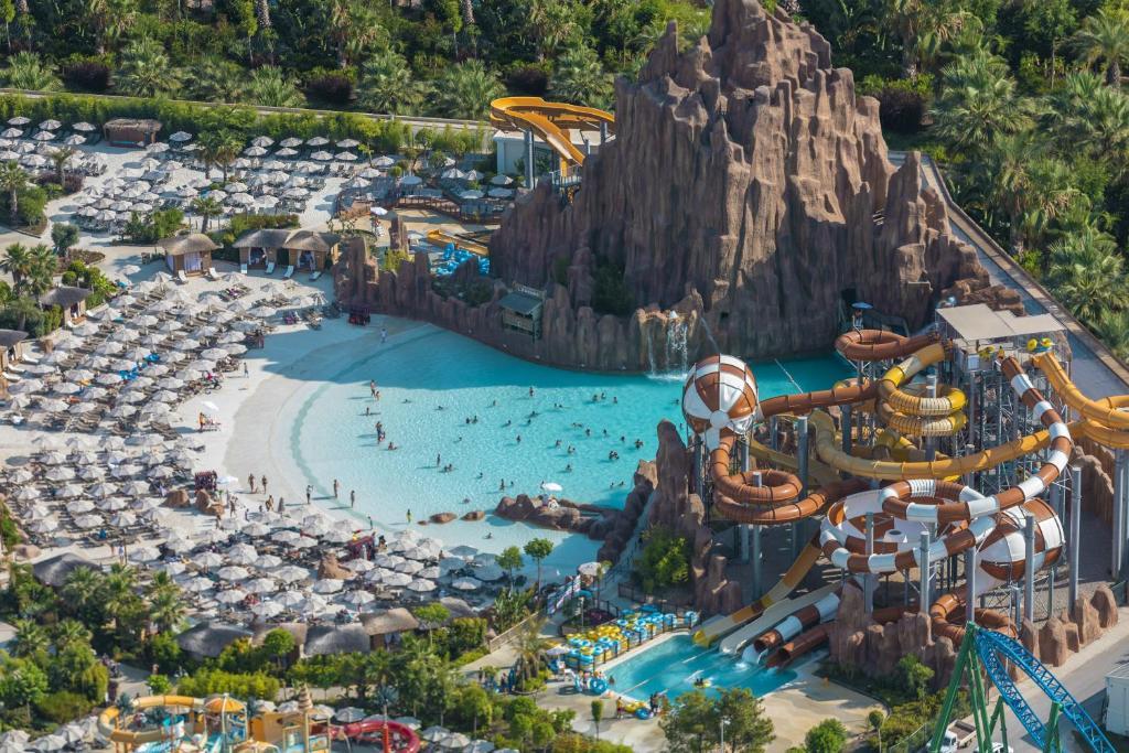 The Land Of Legends Kingdom Hotel с высоты птичьего полета