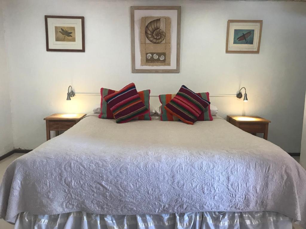 Cama ou camas em um quarto em Hotel Pat'ta Hoiri