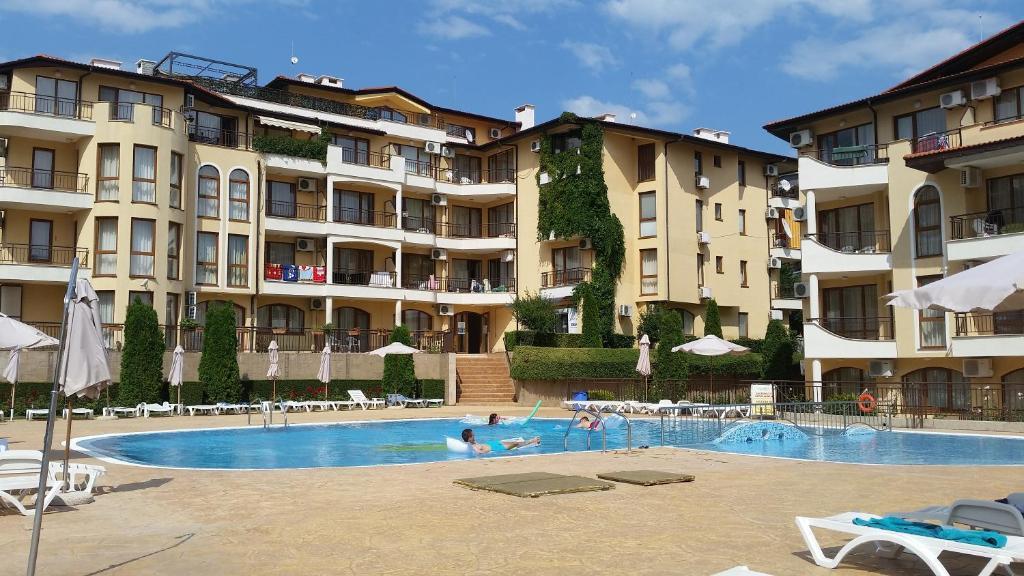 Bazén v ubytovaní Aqua Dreams alebo v jeho blízkosti