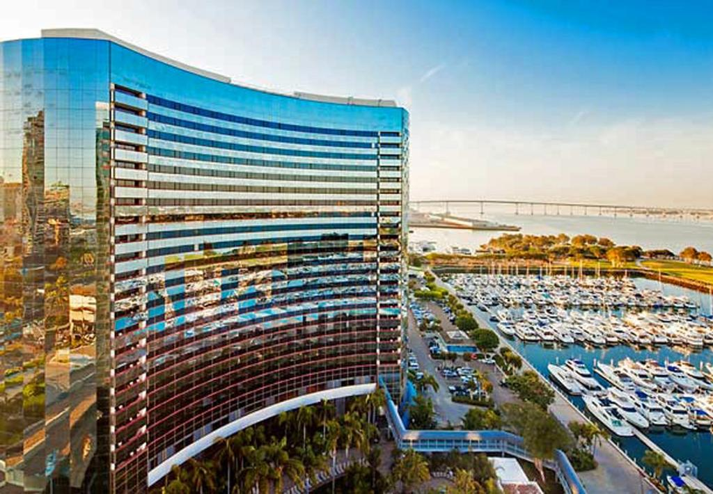 Hotels In San Diego >> Hotel Marriott Marquis And Marina San Diego Ca Booking Com
