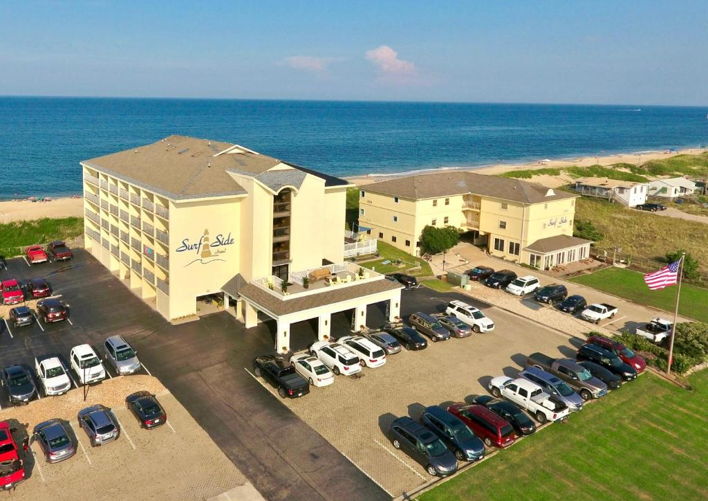 A bird's-eye view of Surf Side Hotel