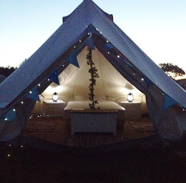 Luxury tent Glamping Bell Tents, Flamborough, UK