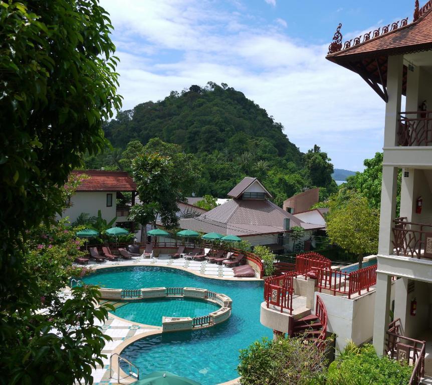 A view of the pool at Anyavee Ao Nang Bay Resort or nearby