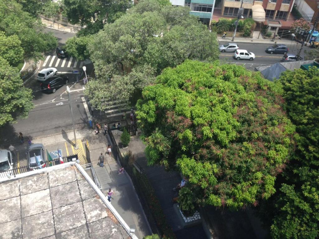 A bird's-eye view of Apartamento na Graça