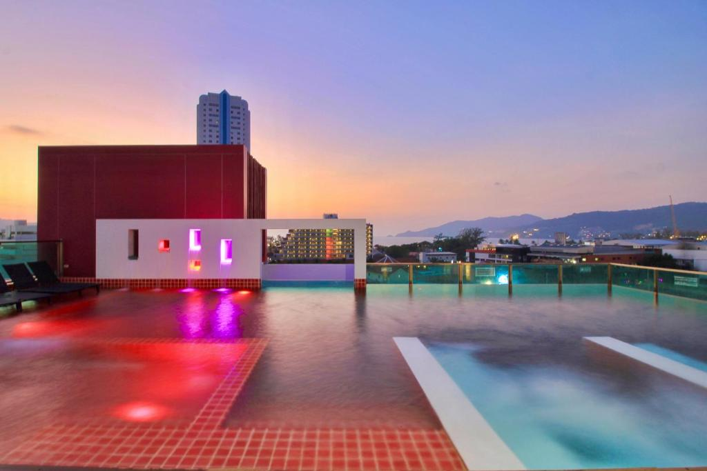 The swimming pool at or near SLEEP WITH ME HOTEL design hotel @ patong