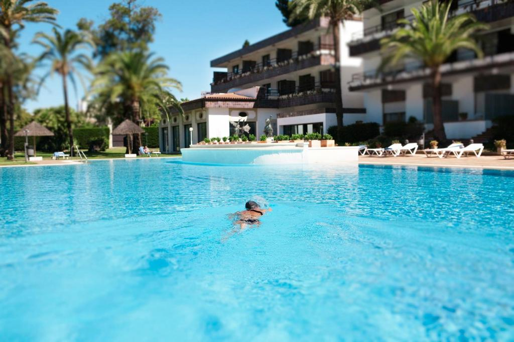 The swimming pool at or near Hotel Jerez & Spa