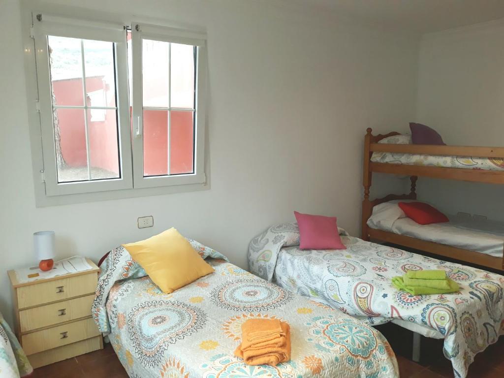 Litera o literas de una habitación en Casa Mayantigo