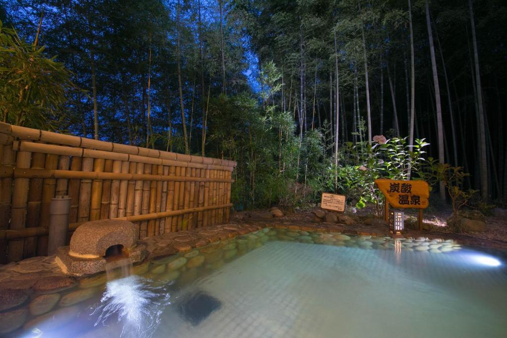 Der Swimmingpool an oder in der Nähe von Koderaso