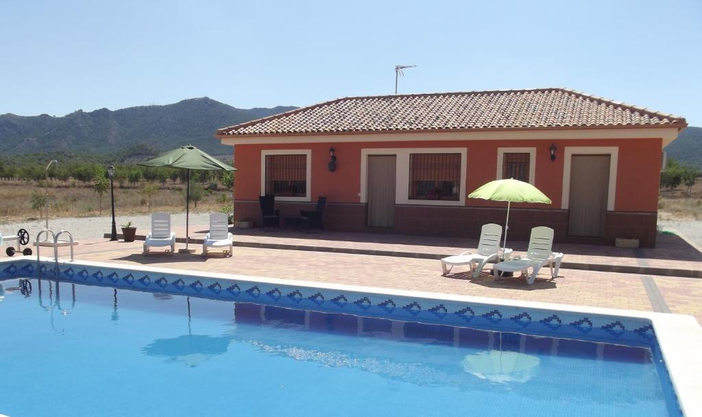 Bungalow at Casa Alizin, Ricote, Spain - Booking.com