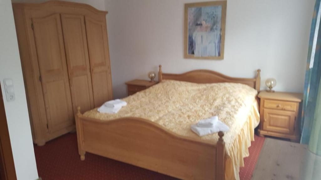 Ein Bett oder Betten in einem Zimmer der Unterkunft Hotel&RestaurantWellin
