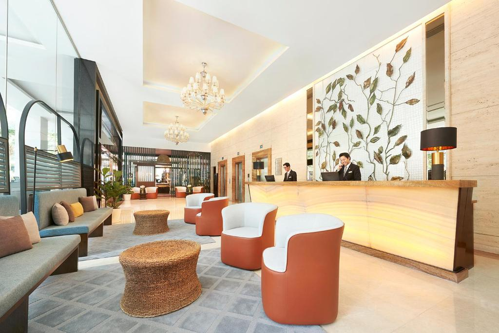 The lobby or reception area at Park Hotel Clarke Quay