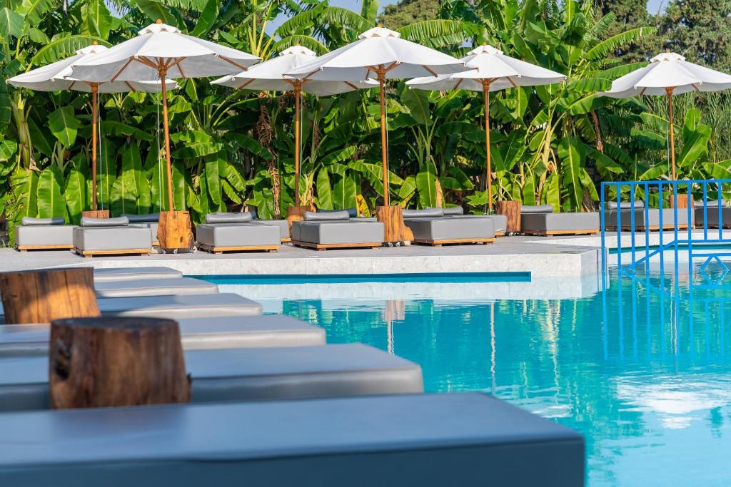 The swimming pool at or near Diamond Boutique Hotel