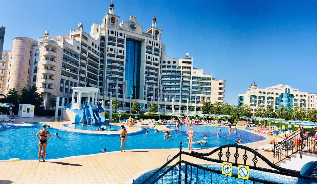 Luxury Sunset Resort Apartment Pomorie Bulgaria Booking Com