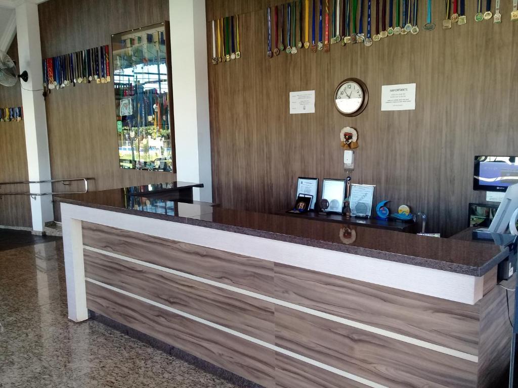 The lobby or reception area at Hotel Cataratas