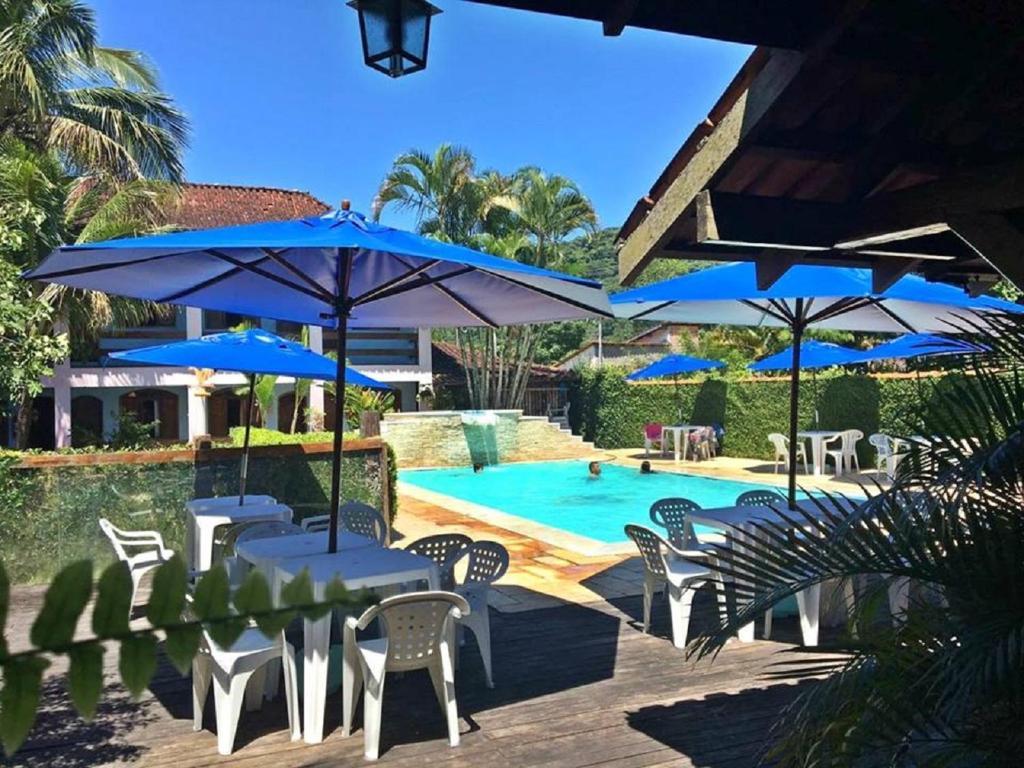 A piscina localizada em Hotel Pousada Cavalo Marinho ou nos arredores