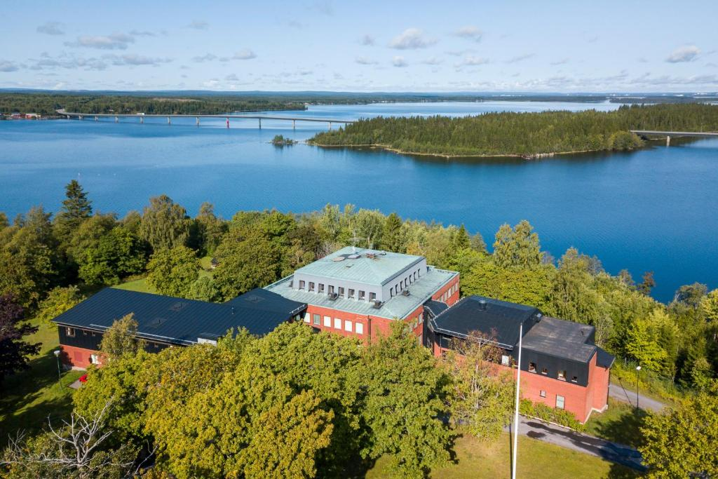 A bird's-eye view of Västerbacken Hotell & Konferens