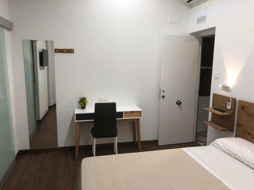 Cama o camas de una habitación en Cabildo