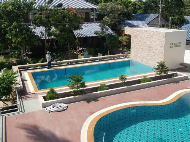 A view of the pool at Prik Thai Resort or nearby