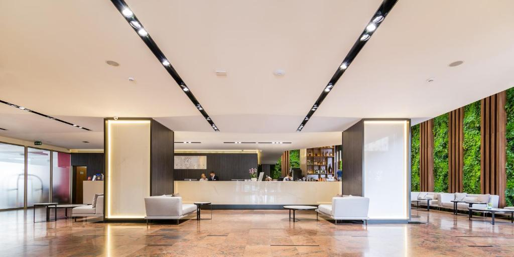 The lobby or reception area at Unirea Hotel & Spa