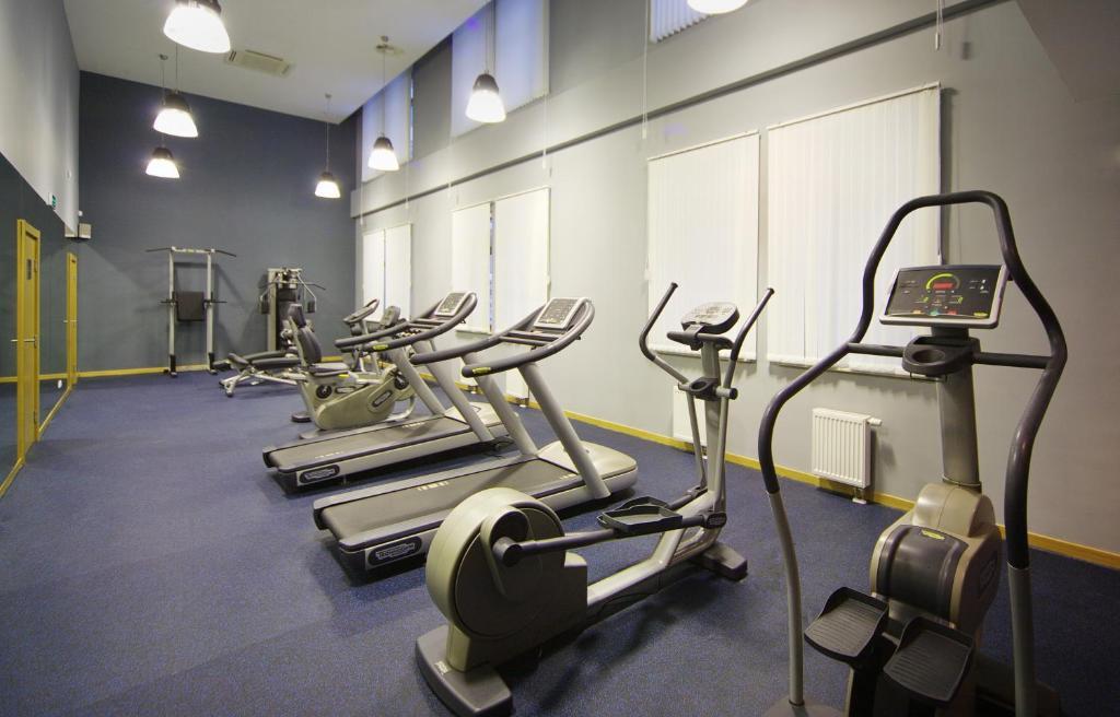 Фитнес-центр и/или тренажеры в Tulip Inn Rosa Khutor Hotel