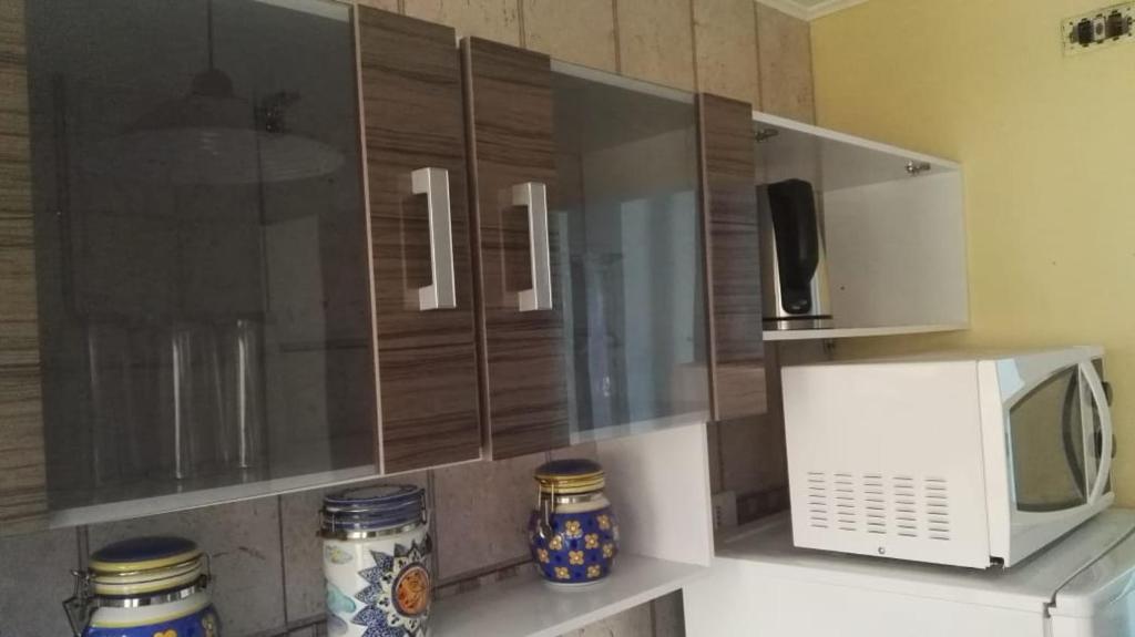 Una cocina o zona de cocina en Casa Gimar Austral