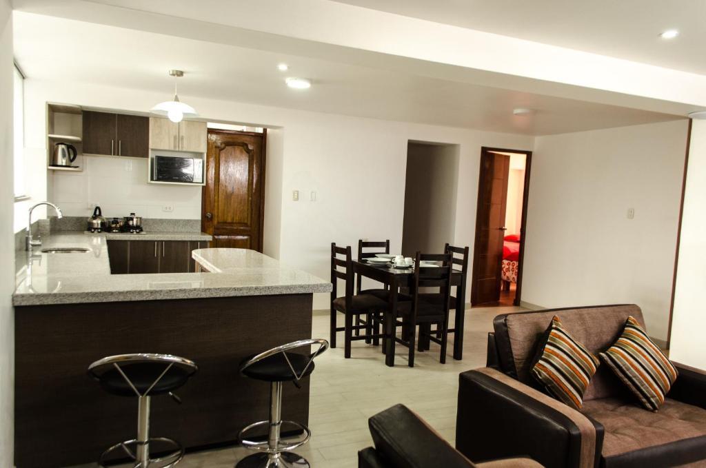 Una cocina o zona de cocina en Mayte Apartment