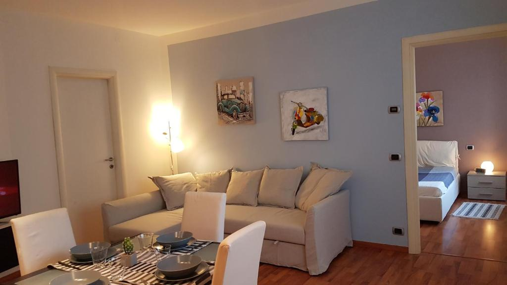 A seating area at Il Corso