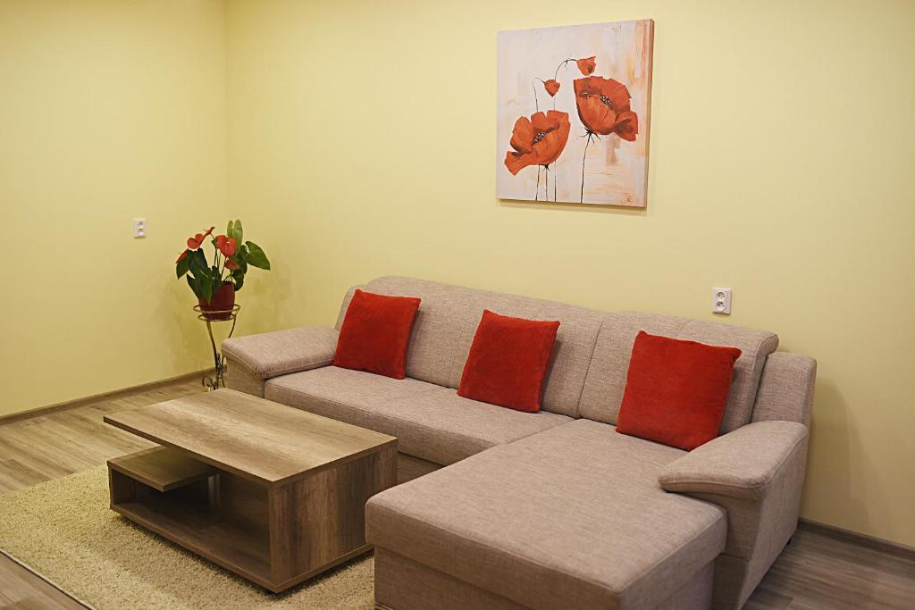 Area tempat duduk di Apartments Victoria