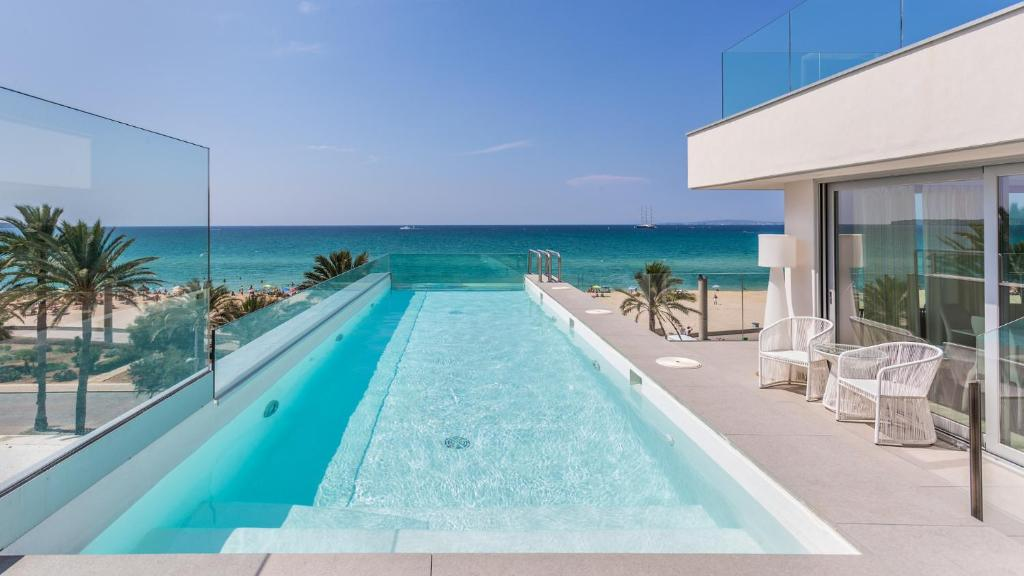The swimming pool at or near The Hype Beach House