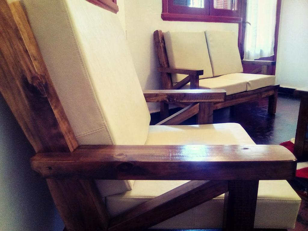A seating area at La Casona