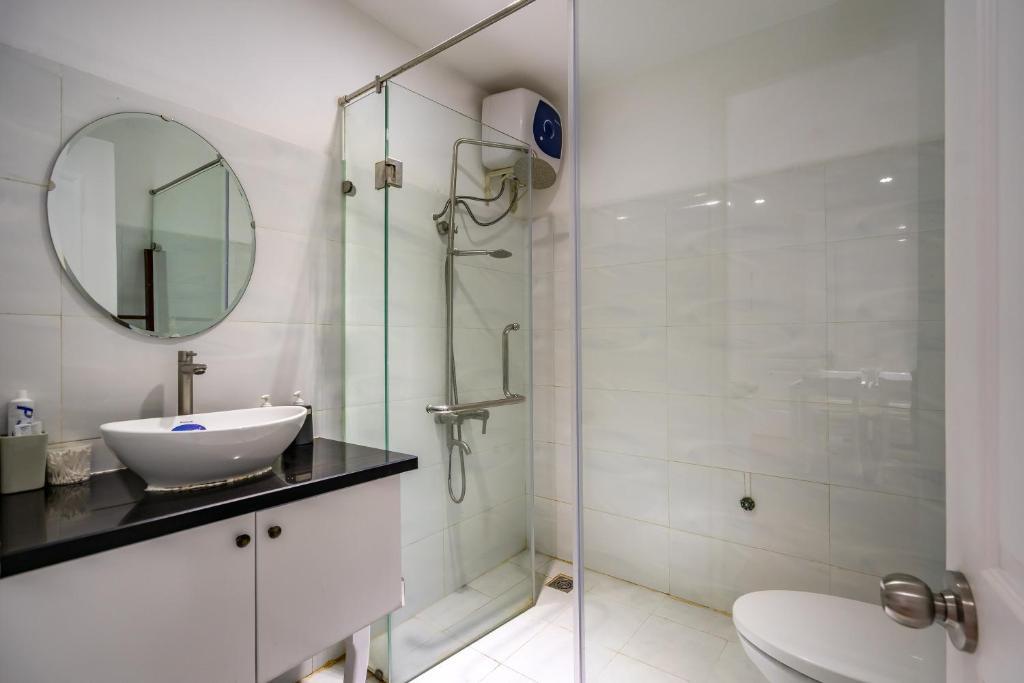 Căn hộ dùng chung phòng tắm