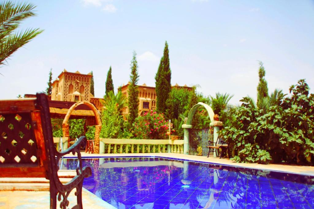 The swimming pool at or near Auberge Kasbah Tiriguioute