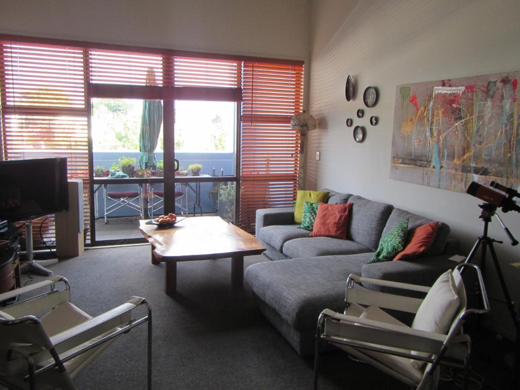 A seating area at Apartment Homestay