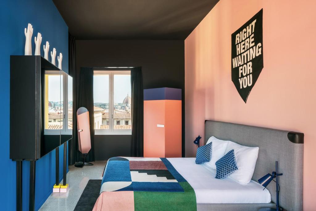 Un ou plusieurs lits dans un hébergement de l'établissement TSH Florence Lavagnini