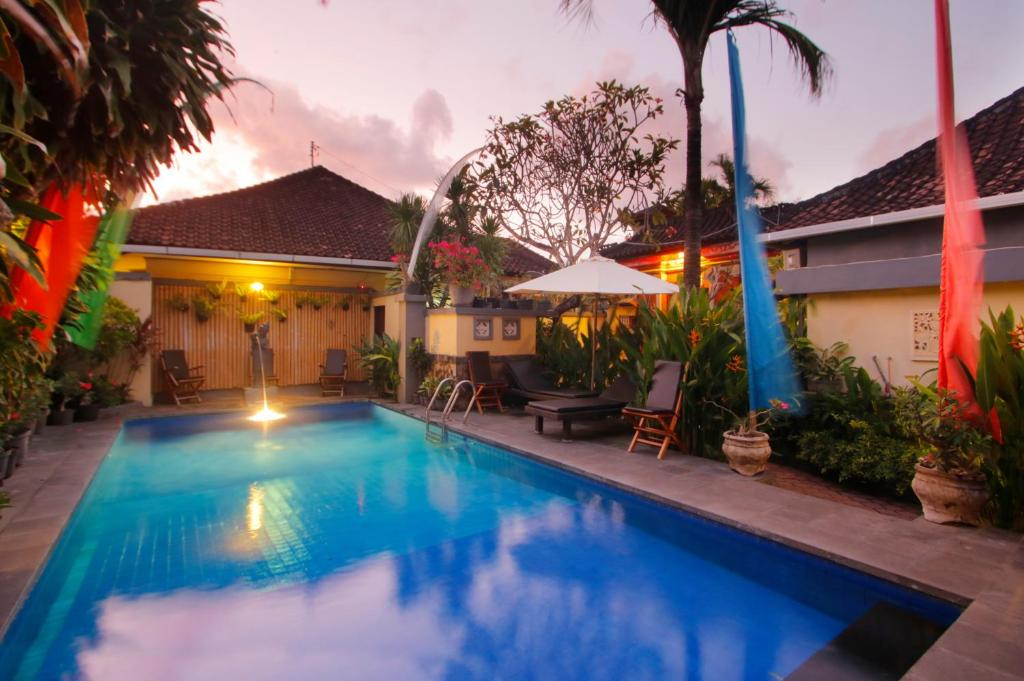The swimming pool at or near Hotel Jati Sanur